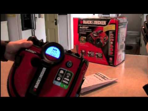 Review of Black and Decker AS1500 cordless air station