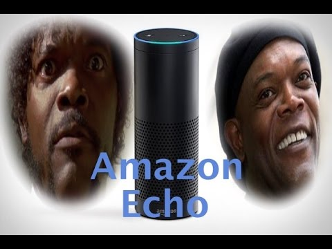 Amazon Echo FT. Samuel L. Jackson (Amazon Echo Parody)