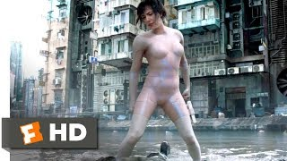Ghost in the Shell (2017) - Invisible Chase Scene (5/10) | Movieclips