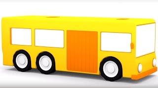 Развивающий мультфильм про машинки для детей от года. 4 машинки.