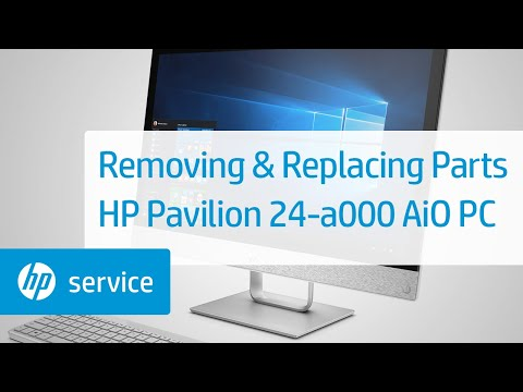 Service Teardown: HP Pavilion 24-a000 AiO Desktop PC Series | HP Computer Service | HP