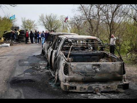 Watch Ukraine Conflict: 'Five Killed At Separatist Checkpoint'