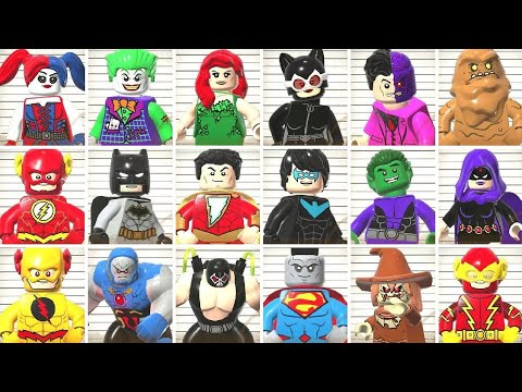 All Characters With Entrance Lines in LEGO DC Super-Villains