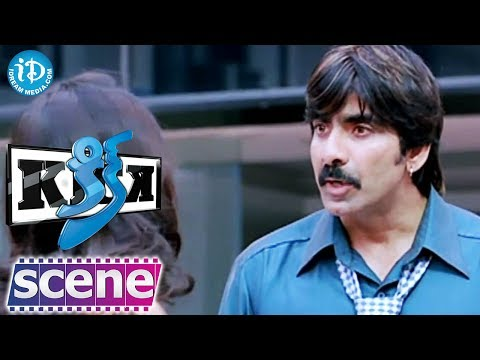 Ravi Teja, Iliana, Aasheeka Nice Comedy Scene - Kick Movie video