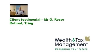 Download Client testimonial - Mr G. Roser, Retired, Tring 3Gp Mp4