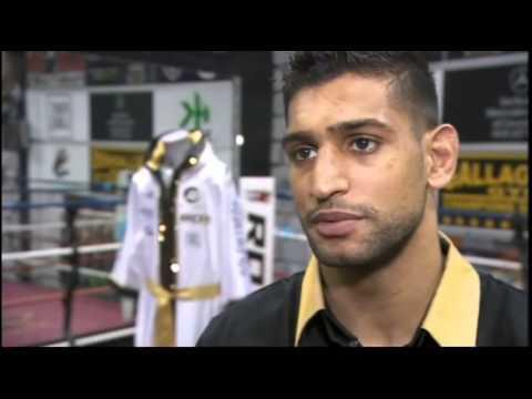 Amir Ali Khan Amir Khan Donates £39k Shorts