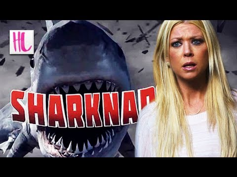 Tara Reid Talks 'Sharknado'