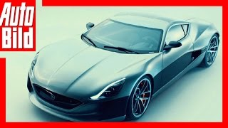 Rimac Concept One (2017) - E-Sportler mit 1224 PS / Details