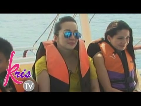 Kris Aquino shares unforgettable boat experience in Palawan