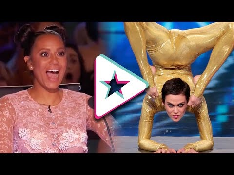 8 Amazing Female Acrobats on Got Talent