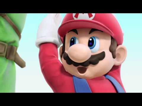 Super Smash Bros 4 Gameplay (WII U / 3DS) Wii Fit Trainer (Female) 【All Characters So Far HD】 E3M13