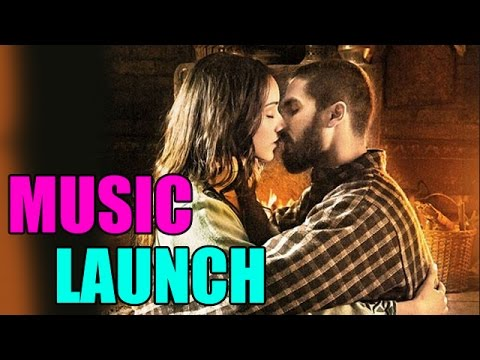 HAIDER Movie - Shahid Kapur and Shraddha Kapoor at 'Haider' movie's music launch | Bollywood News