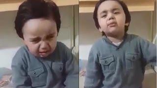Cute Baby boy Crying Funny and Adorable ( Mama Thapar Kyun mara )