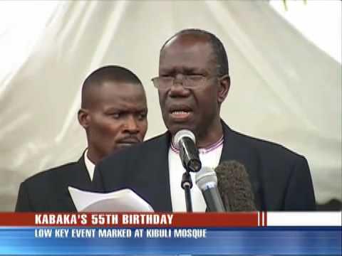 Kabaka Mutebi turns 55