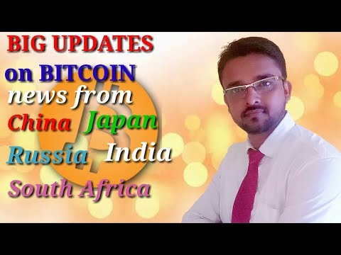 [Hindi] Bitcoin News Updates 3rd October 2017 ! Big News from India, Japan, China, Russia and Africa