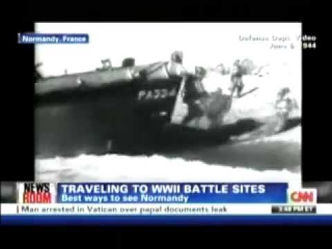 CNN - Jetsetter's Kate Maxwell on Exploring Normandy