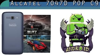 Обзор Alcatel 7047D Pop C9 тестирование в самых крутых 3D играх