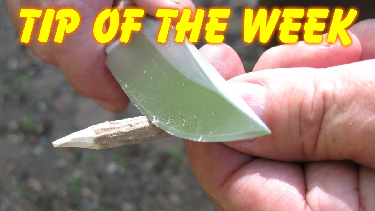 Primitive fishing tool the gorge hook tip of the week for How to make a fishing hook