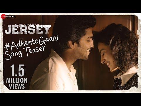 Adhento Gaani Vunnapaatuga - Song Teaser | JERSEY | Nani, Shraddha Srinath | Anirudh thumbnail