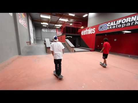 Alli Show - Ryan Sheckler - Tour His Crib + Check Out His Ride & Private Skatepark