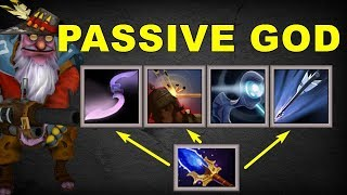Millions Headshot Splinters All Passive Sniper | Dota 2 Ability Draft