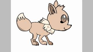 this is how good i draw eevee from Pokém