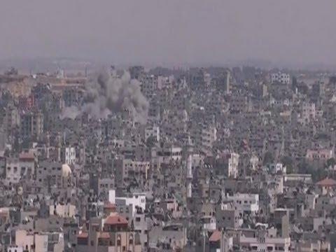 Raw: Israeli Attacks on West Bank and Gaza