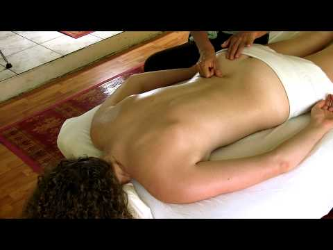 Full Hd Back Massage How To Techniques; Body Spa Therapy, Athena Jezik & Corrina Rachel video