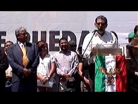 Pedro Miguel. Discurso Asamblea informativa 21-Mar-2010 (parte 2)