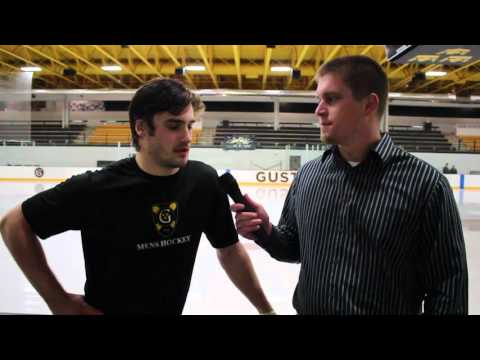 2016 Gustavus Men's Hockey vs Concordia Post-Game Interview