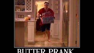 Idiot Loses His Toe After Butter Pranking Himself
