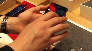Google Android Lg Optimus L9 Hands On