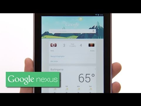 Nexus 7 (2012) - Jelly Bean Tips