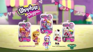 Shoppies Shopkins Dolls s2 | New Shopkins Toys | Shoppies Dolls