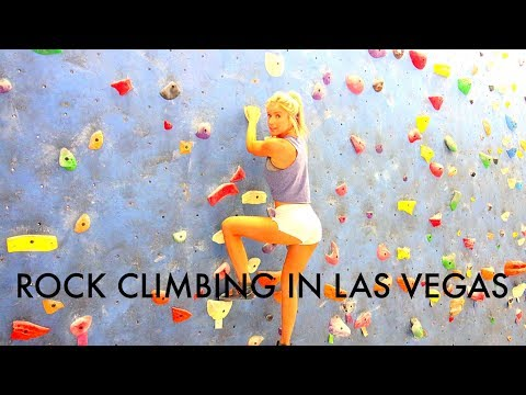 LIFE IN VEGAS//ROCK CLIMBING COURSE REVIEW