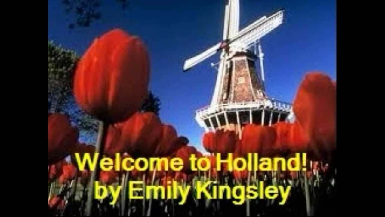 Welcome holland essay emily perl kingsley