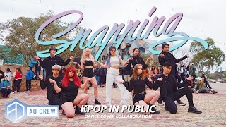 KPOP IN PUBLIC CHUNGHA 청하 'SNAPPING' DANCE COVER [AO CREW - AUSTRALIA] ONE SHOT