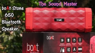 boAt Stone 650 BT Speaker Unboxing & Review| Your Sound Master