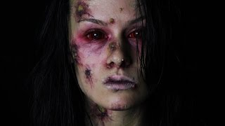 Halloween: Infected (Zombie Makeup Tutorial)