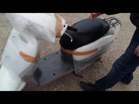 Как выглядит доставка мопедов из Японии