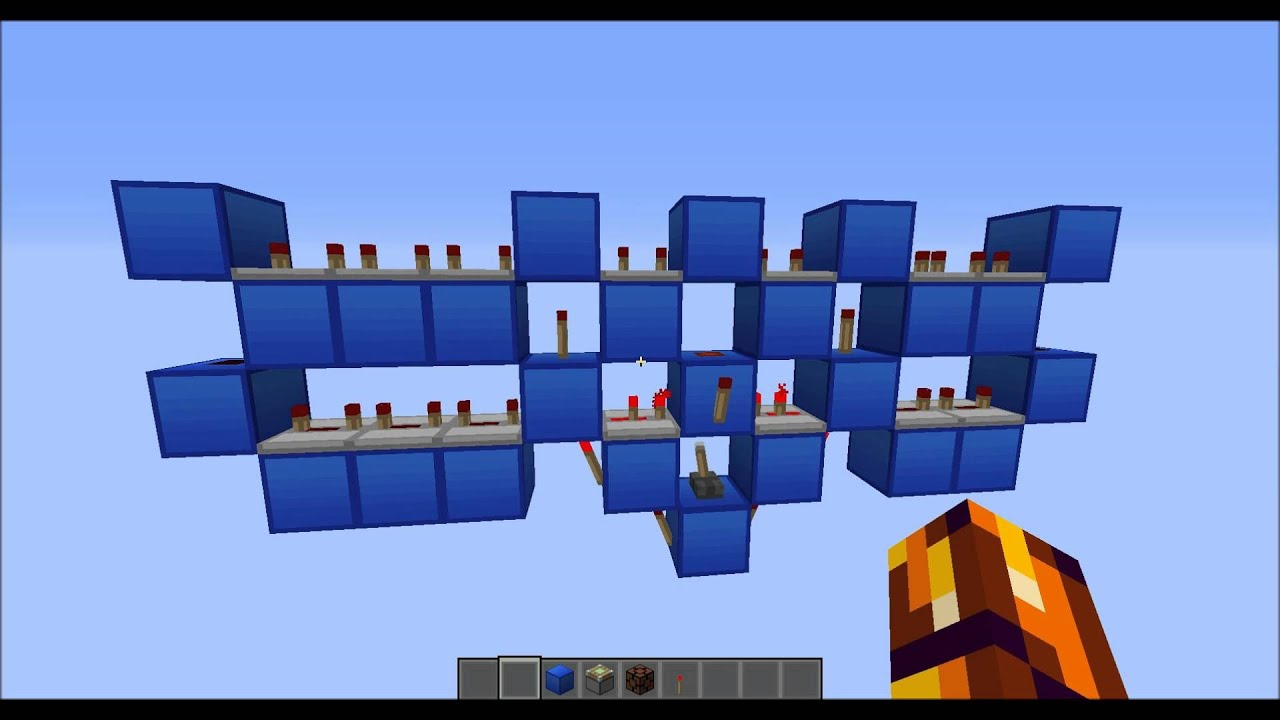 minecraft  compact 1 minute clock   crowd sourcing