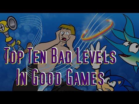 Top Ten Bad Levels In Good Games