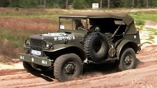 Army offroad vehicles - Sahara 2014