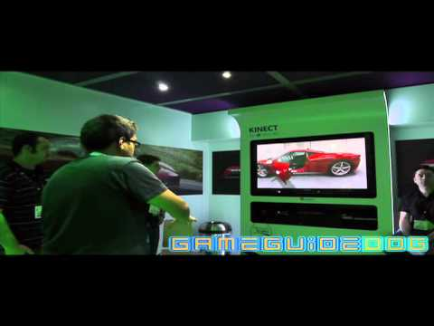 Forza 4 Kinect Live Gameplay |  E3 2011