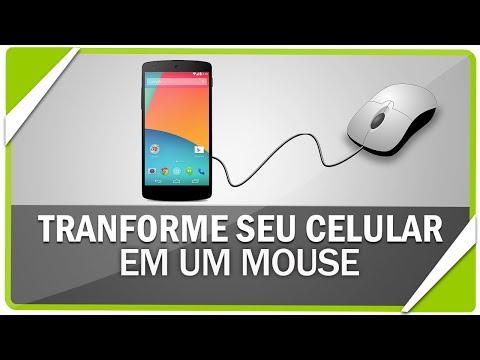 Como transformar seu celular em um mouse sem fio