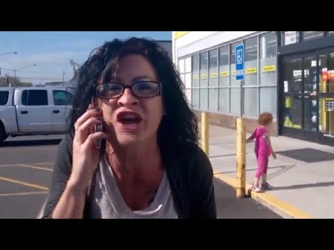 Woman's Shrieking Racist Rant Goes Viral & You'll See Why video