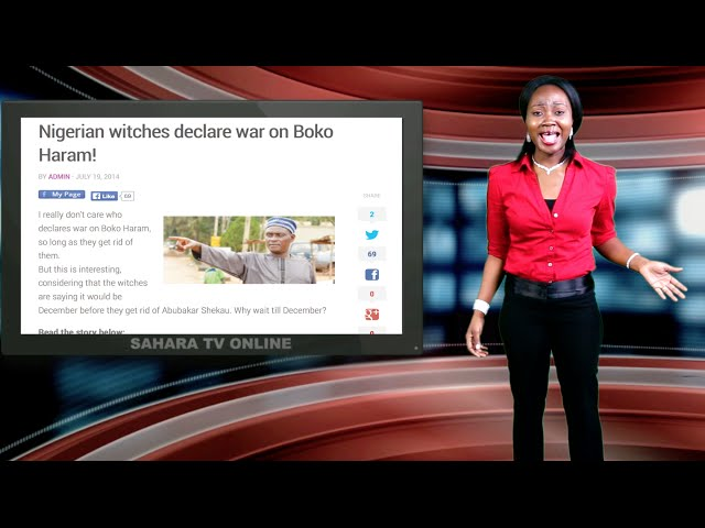 Keeping It Real With Adeola - Episode 130 (Witches Declare War On Boko Haram)