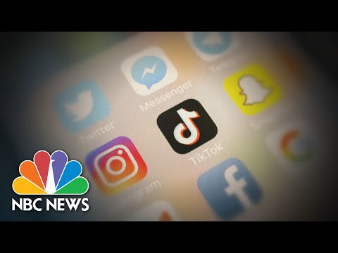 TikTok Users React To Trumpвs Pledge To Ban The App In The U.S.  NBC Nightly News