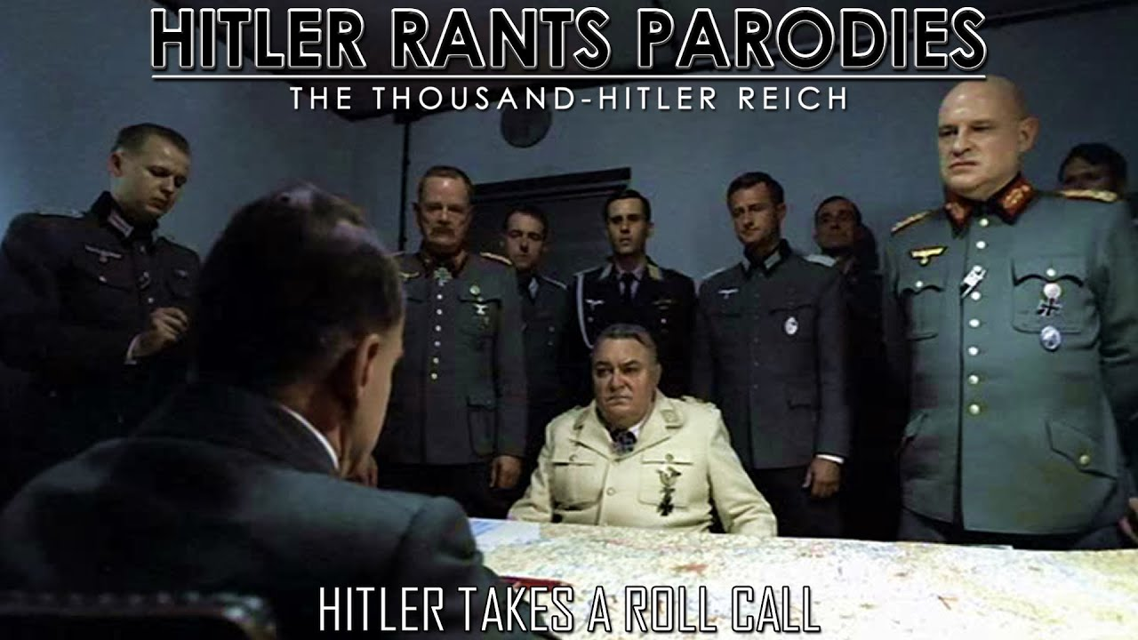 Hitler takes a roll call