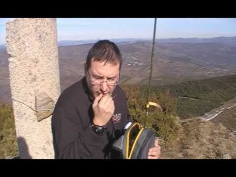 Cotela do Faro (SOTA EA1/LU-003) with a Yaesu FT-857D manpack